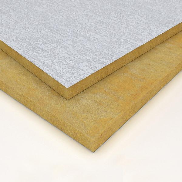 Aislación lana de vidrio Isover Andina PVC Rústico