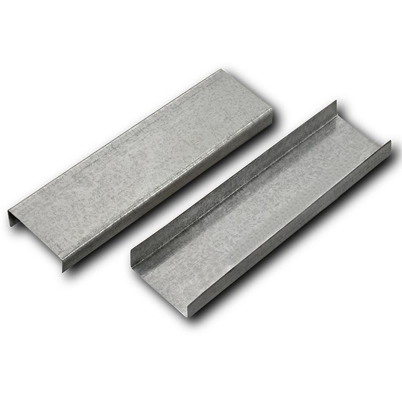"""Perfil Estructural """"U"""" de acero galvanizado para industrias"""