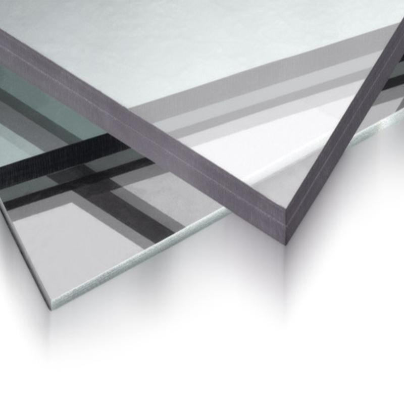 Placa de policarbonato compacto