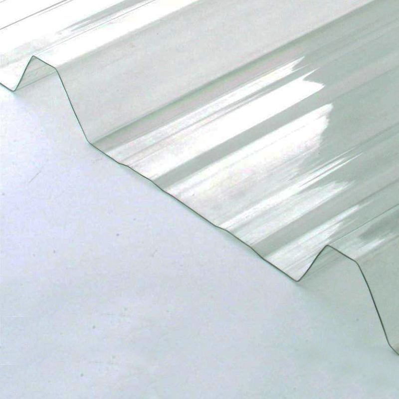 Placa de policarbonato trapezoidal T-101